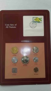 Набор монет Антигуа 1965-1983 - Coins of All Nations